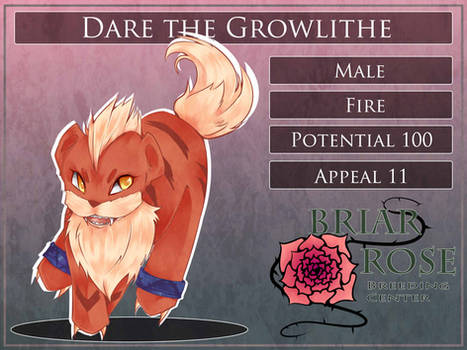PARPG Dare the Growlithe Reference