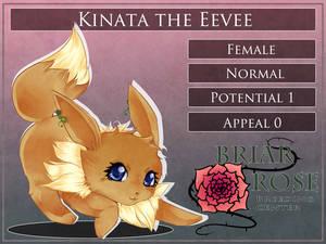 :PARPG: Kinata the Eevee by Nika-tan