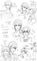 :PA: Auric n 'Friends' Art Dump 1 by Nika-tan