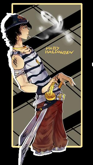 :PA: Aurric 'For Halloween I'll be...' by Nika-tan