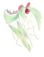 :Request: Nathalie the Kirlia by Nika-tan