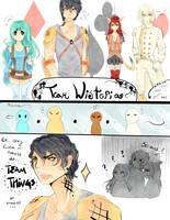 :PA:WSTA Team Things by Nika-tan