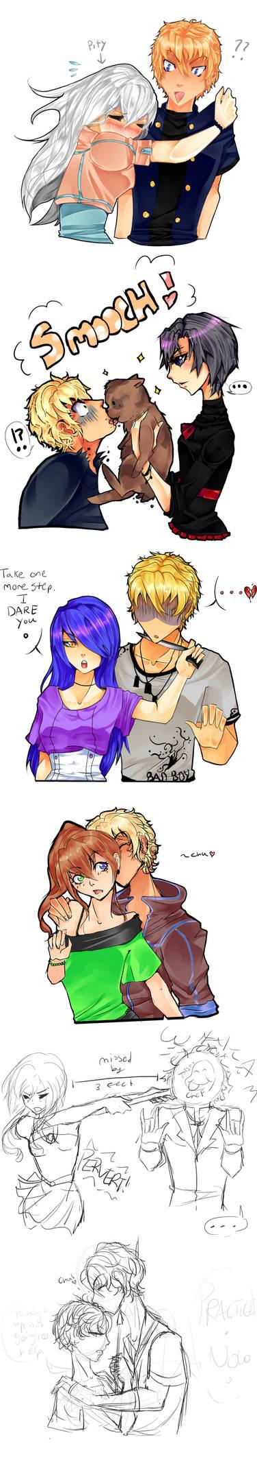 :IH: Dantae's Kiss Meme- Part 1 by Nika-tan