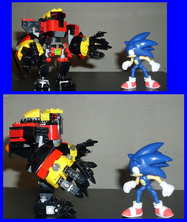 A Sonic standoff by Ultra-Charge
