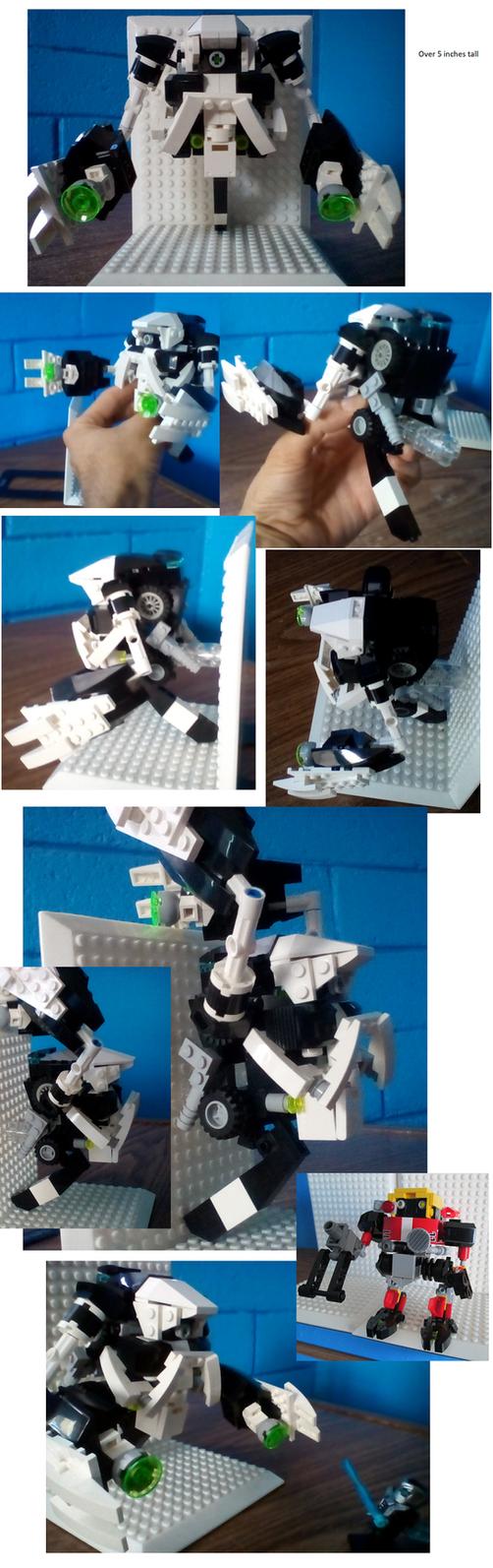 Lego E-101 Beta (second form) by RedBlueIsCool