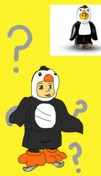 A MANguin, if you will by RedBlueIsCool