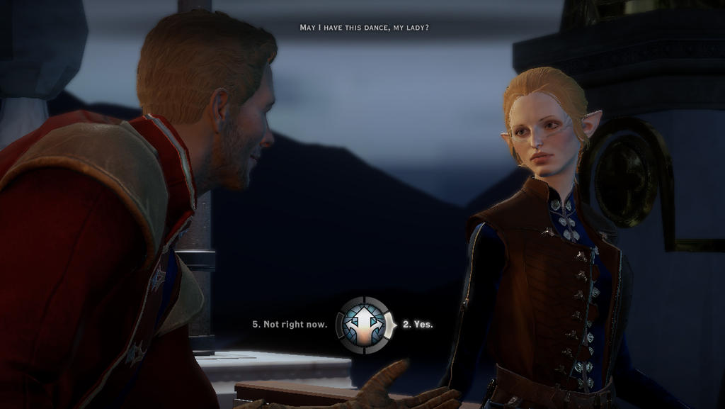 (DA:Inquisition spoilers) Easiest Choice Yet by supernanny191
