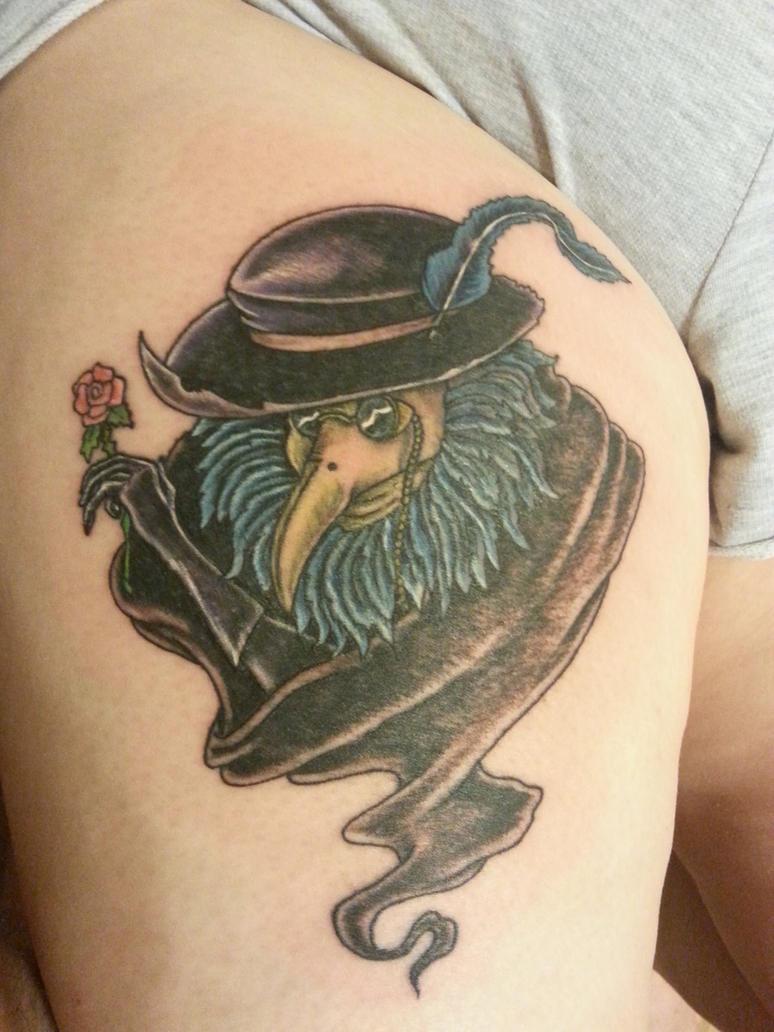 Plague doctor tattoo by rahvanna on deviantart for Plague doctor tattoo
