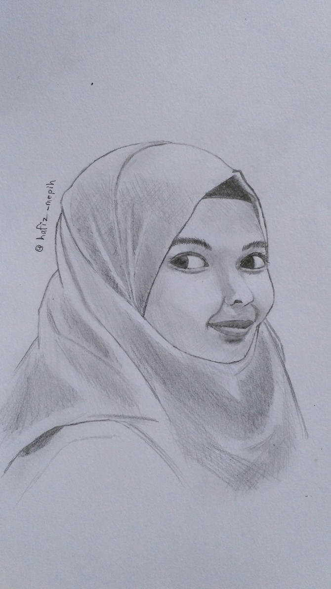 portrait by hafizmepih