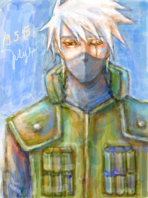 Kakashi by Julye-chan