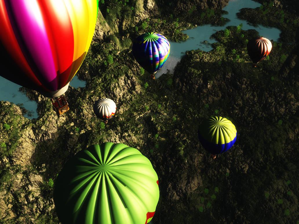 In My Beautiful Balloon by koonak