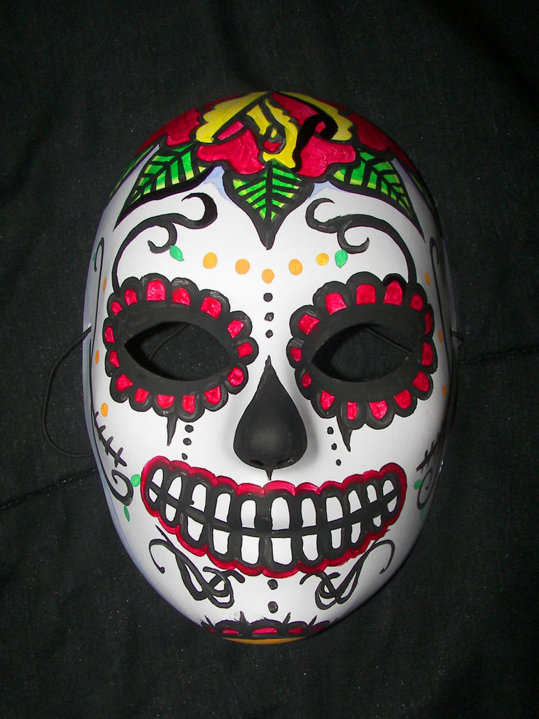 Day Of The Dead Mask by Metalreaper101 on DeviantArt