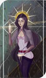Tarot card by devil-devilishes