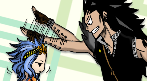 Levy and Gajeel by subotaix08