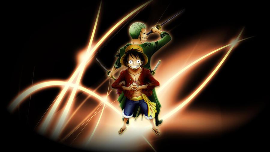 One Piece Zoro- Luffy ...