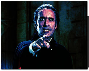 Christopher Lee Dracula by TyrianDivine