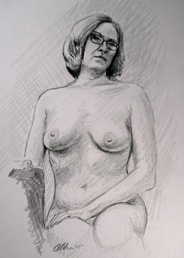 Figure study  by MacAnthony30