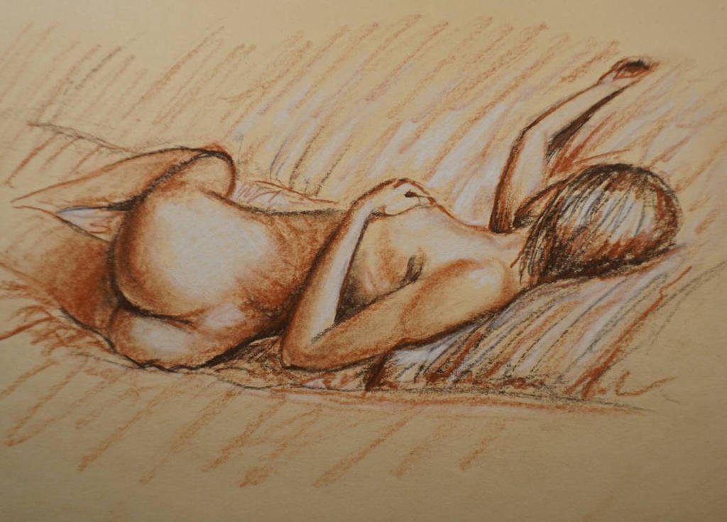 Figure sketch  by MacAnthony30