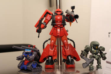1/144 RG Zaku II Johnny Ridden by Fujin777