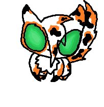 Calico Kitty by mustachenarwhal