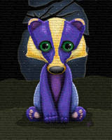 Biscuit the Badgerling by The-Dreaming-Dragon