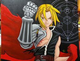 Edward Elric by The-Dreaming-Dragon