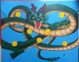 Dragonball Z Shenron 2 by The-Dreaming-Dragon