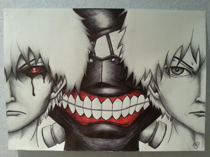 Help me win a competition? Tokyo Ghoul by The-Dreaming-Dragon