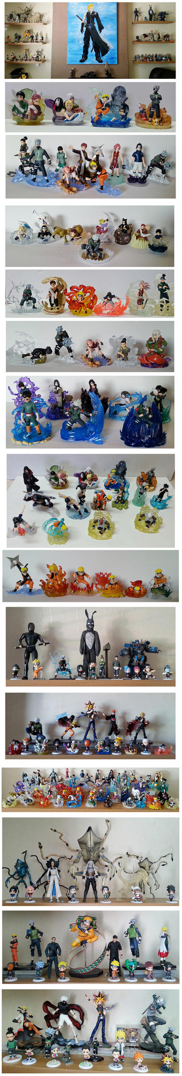My Figure Collection. Or at least some of it... by The-Dreaming-Dragon