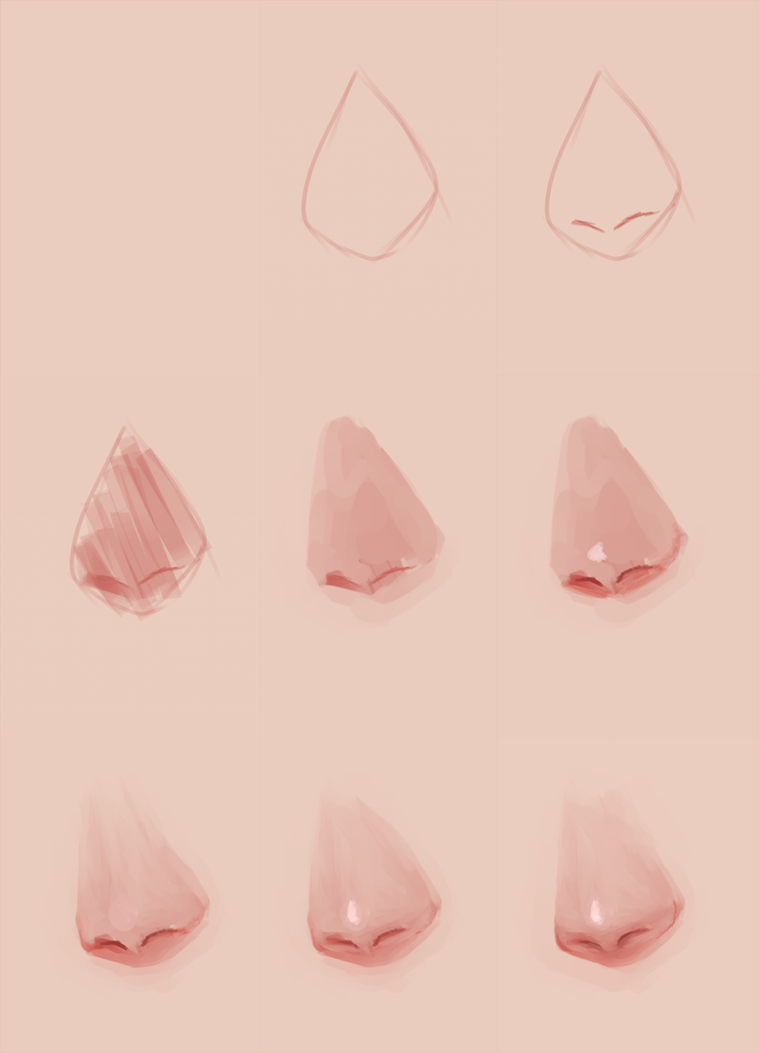 Lousy nose tutorial /old by Octish