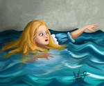 Alice is drowning in her tears