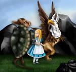 Alice in Wanderland, griffon