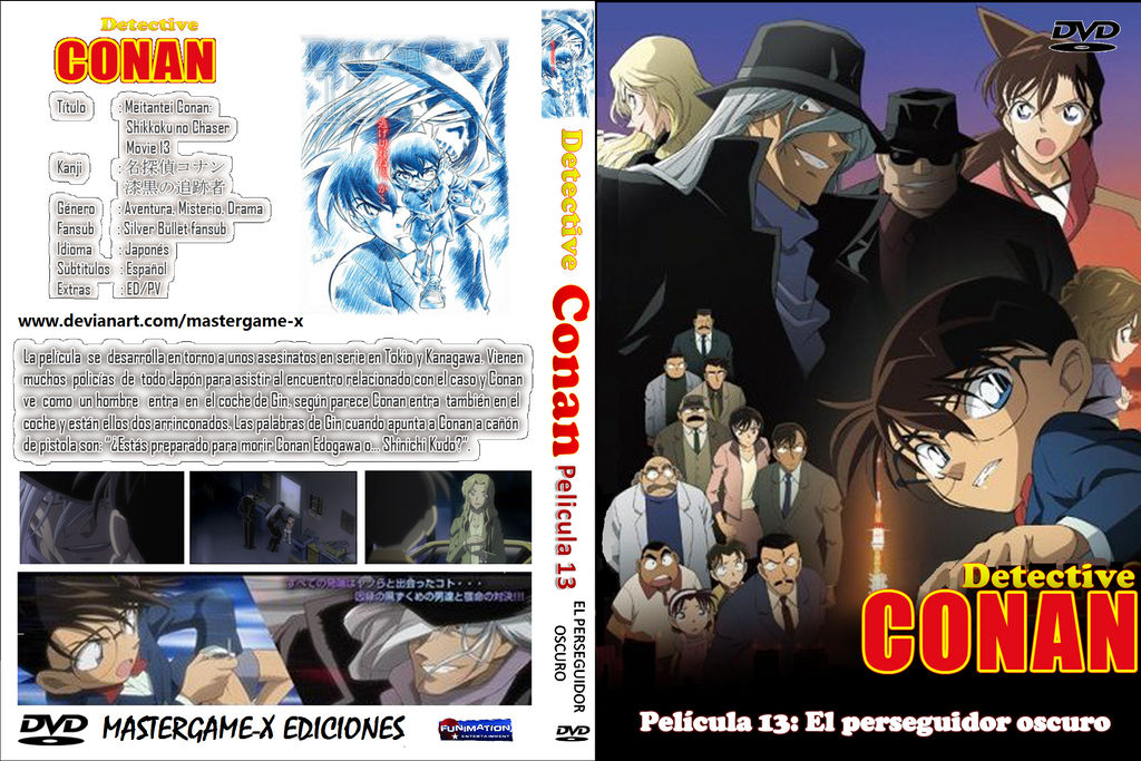DETECTIVE CONAN MOVIE 13 COVER by MASTERGAME-X on DeviantArt