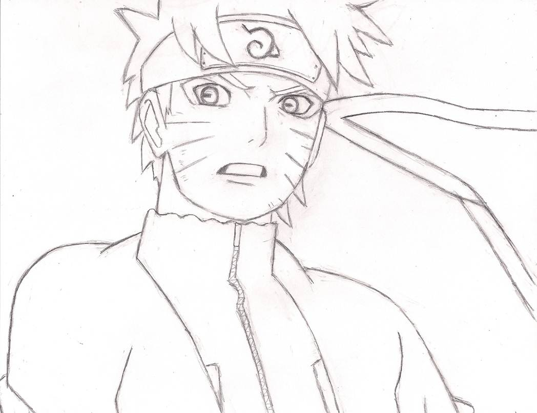 Sage Naruto Rough Sketch By YeLLowCarDxGirL On DeviantArt