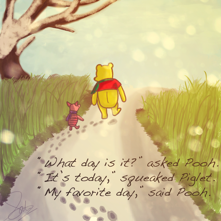 Piglet And Winnie The Pooh Quotes: Winnie The Pooh And Piglet By Happychanson On DeviantArt