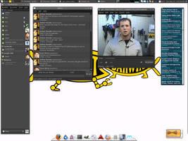 Linux Mint Sept 2008 by arthurreeder