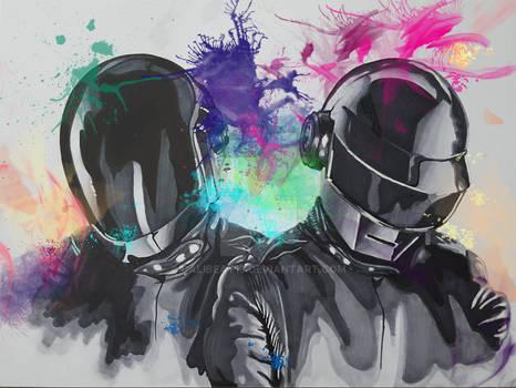 Daft Punk Portrait
