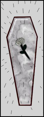 Coffin in the Rain