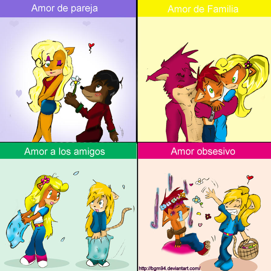 tipos de amor by Bgm94