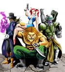 Defenders of Oz...old scketch