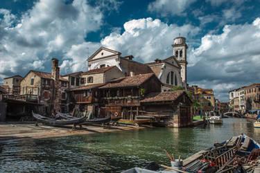 Old shipyard by vpotemkin