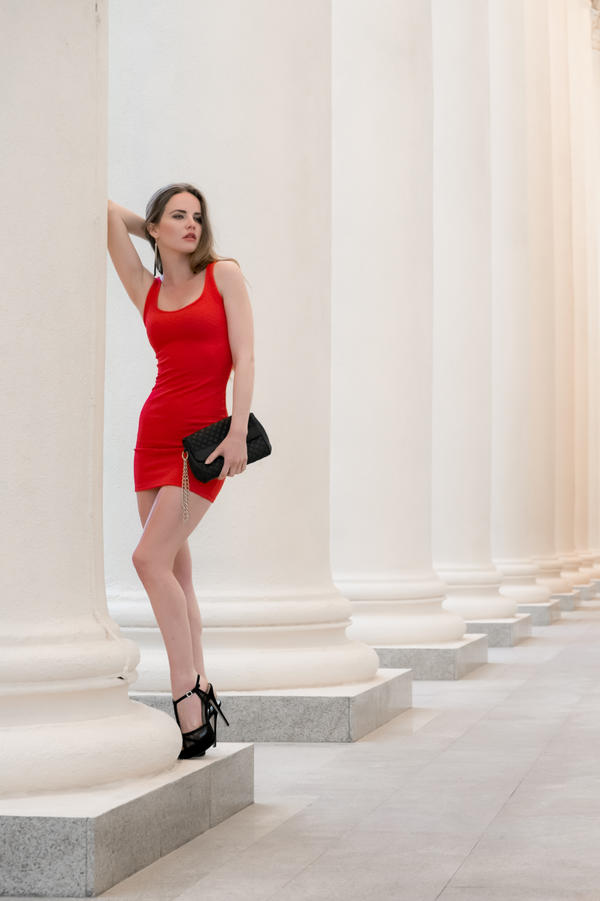 Lady in Red by vpotemkin