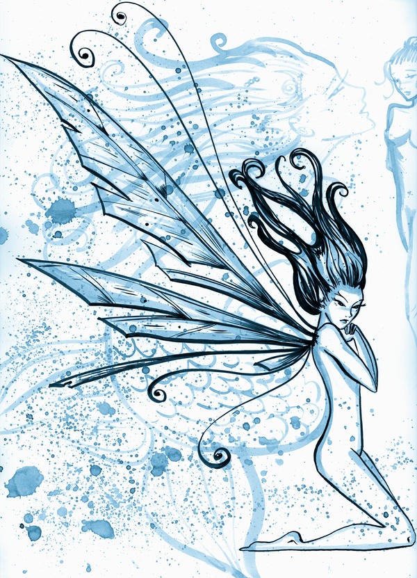 Blue Fairy by SteakandUnicorns
