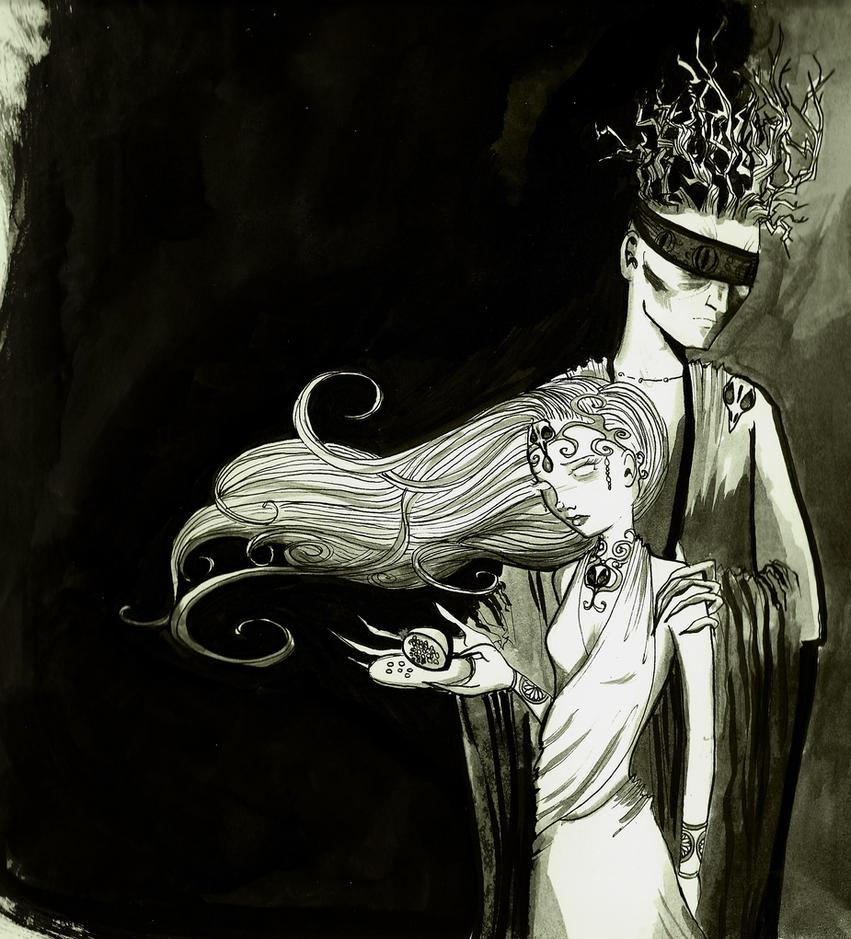 Hades and Persephone. by SteakandUnicorns