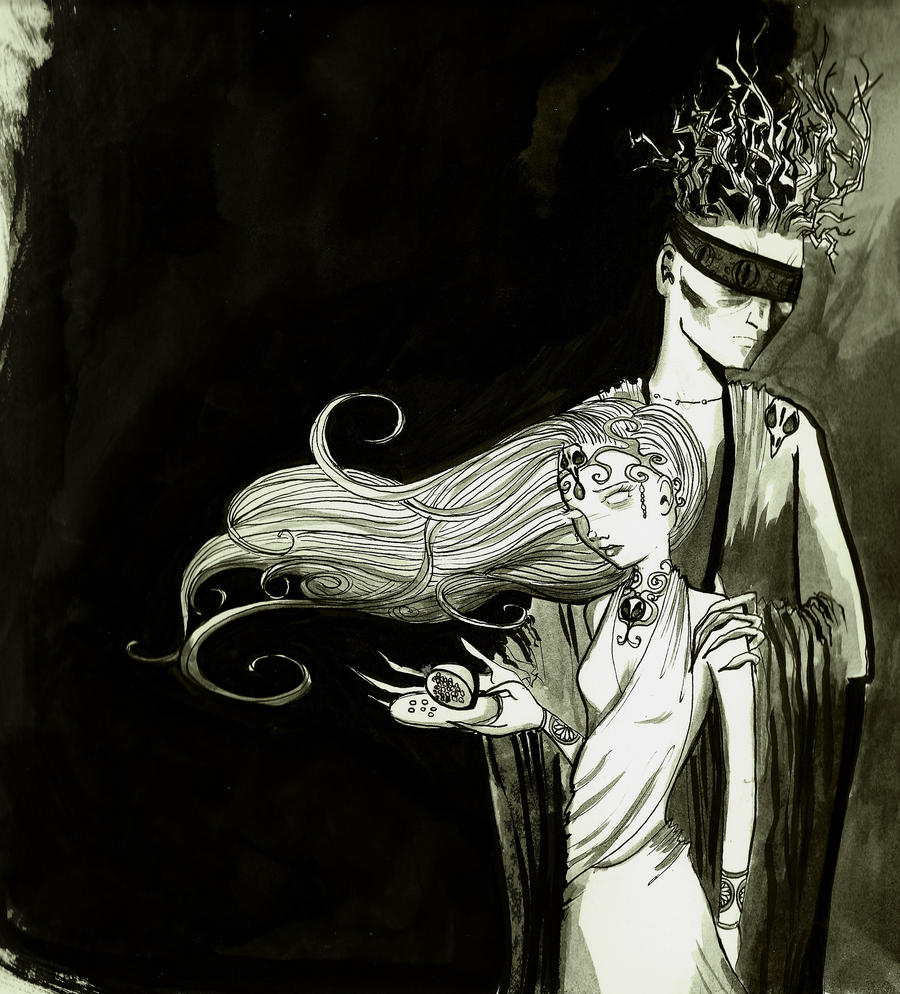 Hades and Persephone. by SteakandUnicorns