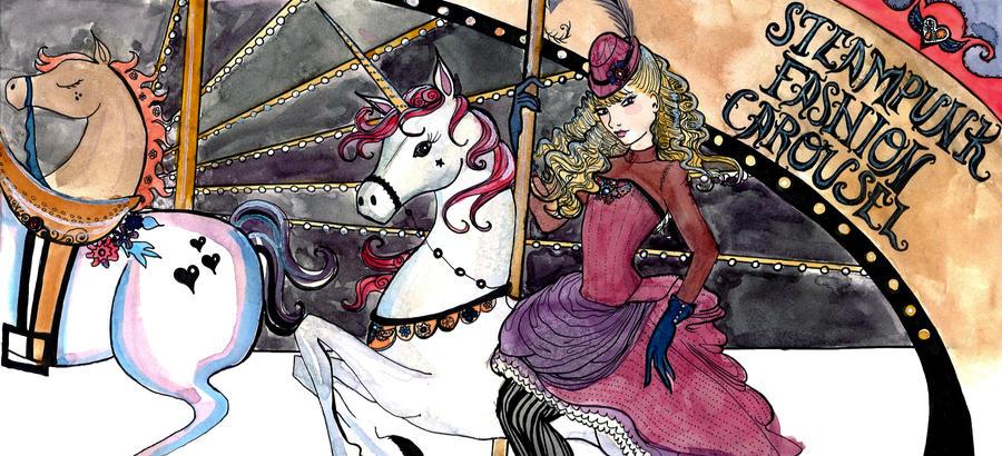 Steampunk Carousel by SteakandUnicorns