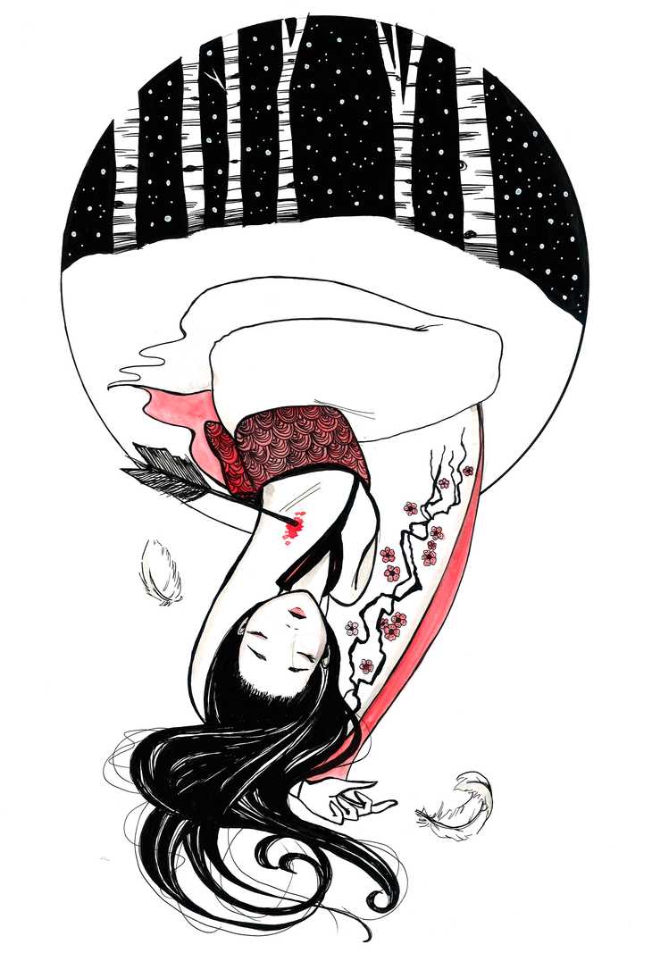 The Crane Wife by SteakandUnicorns