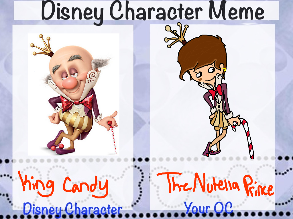 Disney Character Meme by AskNutellaPrince on DeviantArt