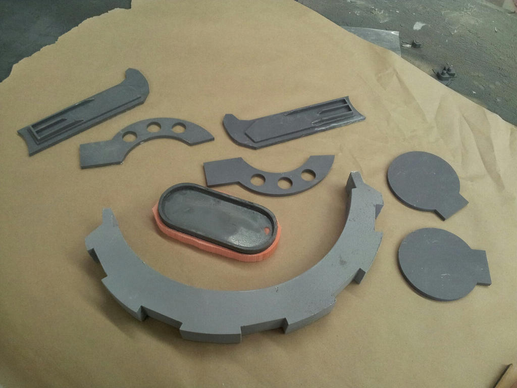 Radec Helmet parts WIP by XizerTheGrey