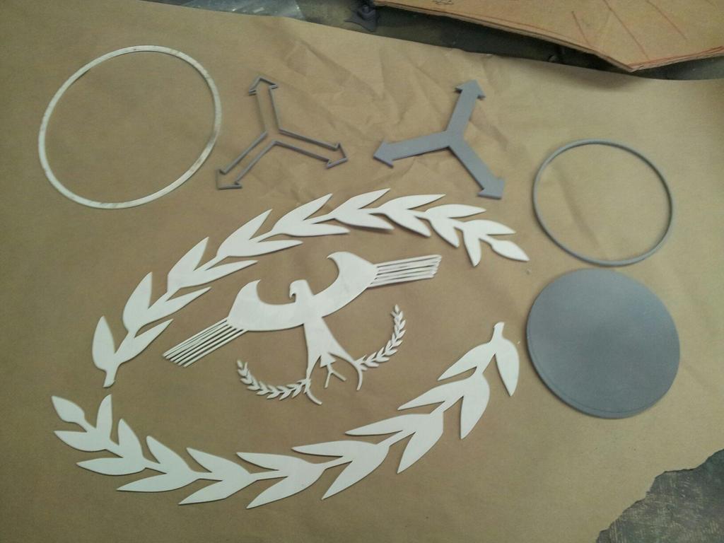 Radec Pauldron insignia by XizerTheGrey